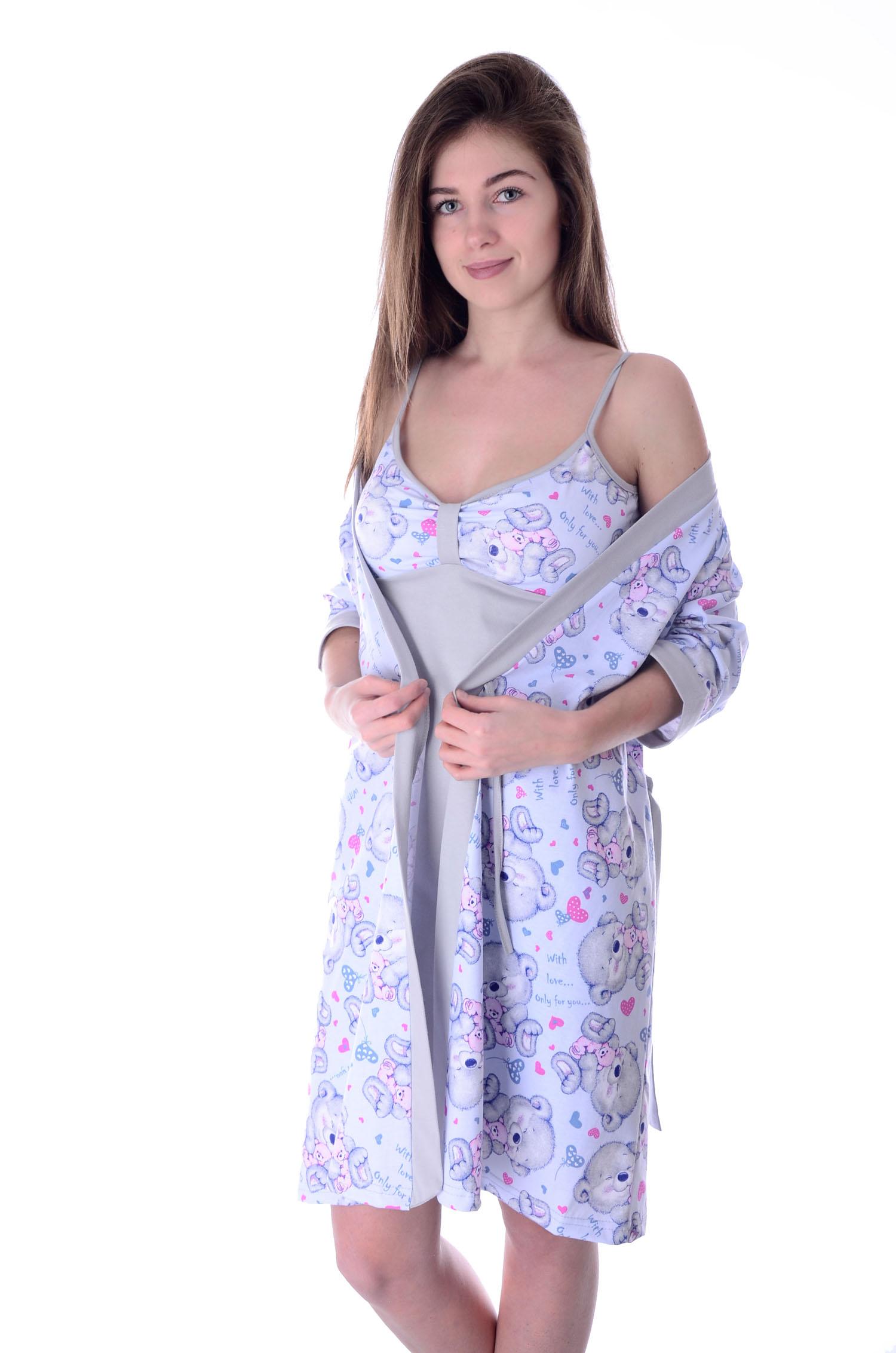 8a21a6fd3ab80 Халаты фланелевые, рубашки, пижамы фланелевые оптом от производителя ...