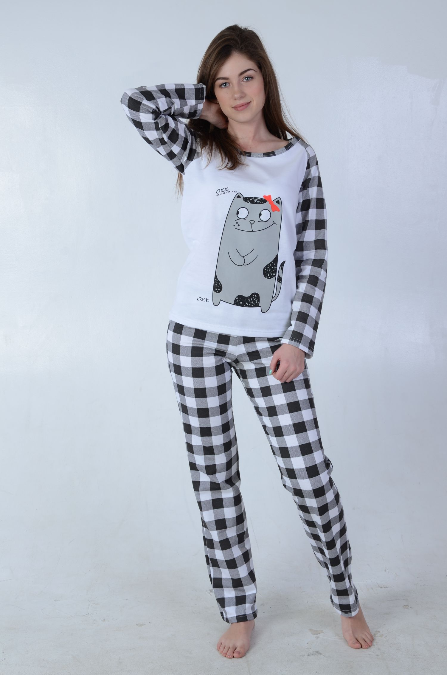 e17c0d893a89 Пижамы женские, ночные сорочки женские трикотажные. Халаты ...